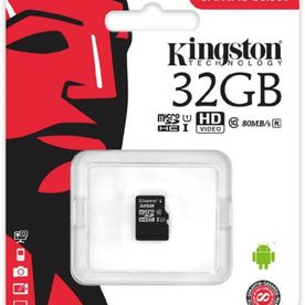 Card MicroSd Kingston - 32GB, clasa 10